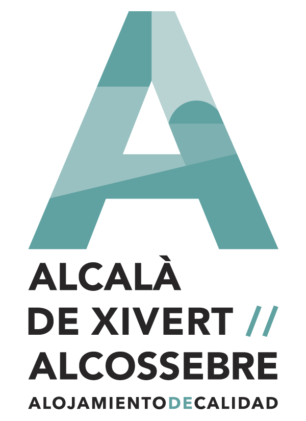 Marca y logo, alojamiento de calidad. Alcalà-Alcossebre
