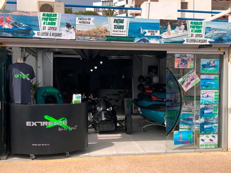 Socio Asociación empresarios Alcalá-Alcossebre Extreme Water Sport